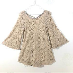 Flower Child Stretchy Lace Dress